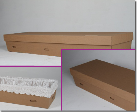 Cardboard Coffins from the Coffin Company